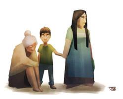 Just a family by BalamTzibtah