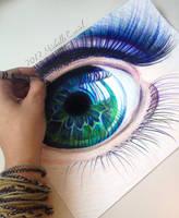 Crayola Ocean Iris by artisticalshell