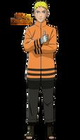 Boruto: The Next Generation|Naruto Uzumaki by iEnniDESIGN