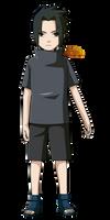 Naruto Shippuden|Sasuke Uchiha (Childhood) by iEnniDESIGN