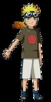 Naruto Shippuden|Naruto Uzumaki (Childhood) by iEnniDESIGN
