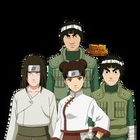 Naruto Shippuden|Team Guy by iEnniDESIGN