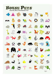 House Pets - 80 Animals by Rawrik