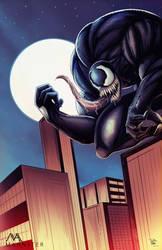 Venom by MahnsterArt