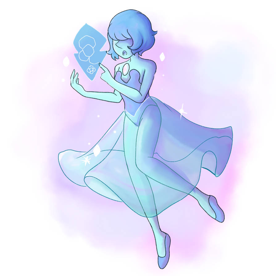 The first promo has blue pearl with the blue screen behind her, and I hope that means she was hiding her doodles. It needs to be canon, let my blue daughter draw! Trying to get better at painterly ...
