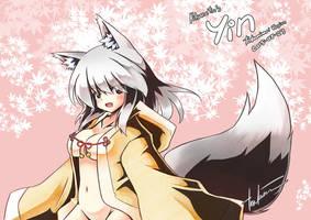 KitsuneYin's Yin by tenkaminari