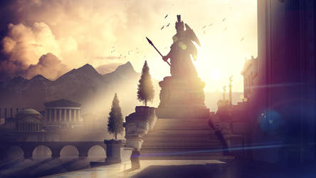 Athena by panjoool