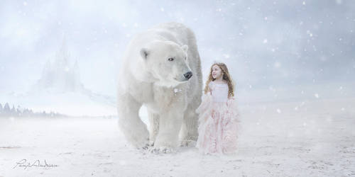 little Princess with polar bears by panjoool