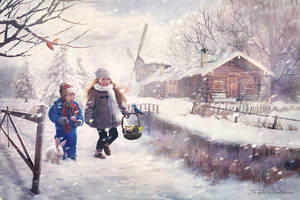 winter cheerfulness by panjoool