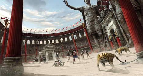 Gladiator - Battle Arena by panjoool