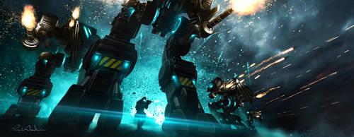 The Frontline ( Space troops series ) by panjoool