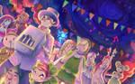 Zelda: Hurdy Gurdy Parade by Aedjy