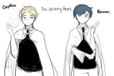 [OC] Cayden and Raven by Hanuno