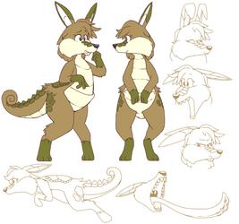 Roxy the ''kangaroo'' by AlmyriganHero