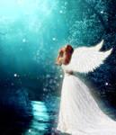 Hopeful angel by Nikki-Hatsune