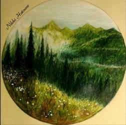 Dreamy forest by Nikki-Hatsune