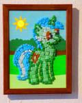 Lyra Heartstrings Mosaic by Malte279