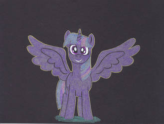 Gel Pen Twilight Sparkle by Malte279