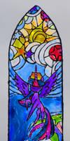 Princess Twilight Sparkle Windowcolor by Malte279