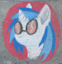 Chalk Vinyl Scratch by Malte279