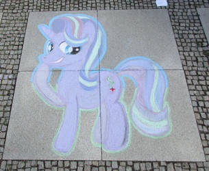 Chalk Starlight Glimmer - GalaCon 2018 by Malte279