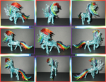 Wire Rainbow Dash Collage by Malte279