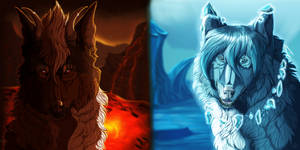 Ice and Fire by AmberRegina