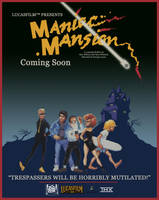 Maniac Mansion Movie Poster by LordDavid04