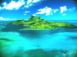 Beautiful island by dingoou