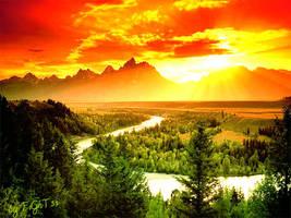 Sunset by dingoou