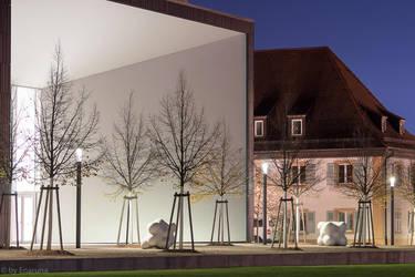 Modern Art in Karlsruhe by enaruna