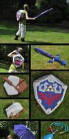 Skyward Sword Link: Casual Cosplay by k-times-two