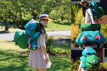 Bulbasaur Backpack by k-times-two
