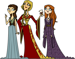 The Three Queens by QueenMV
