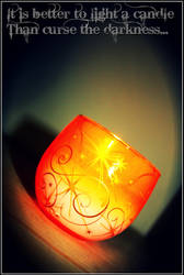 Still Candle .. by FakePromises