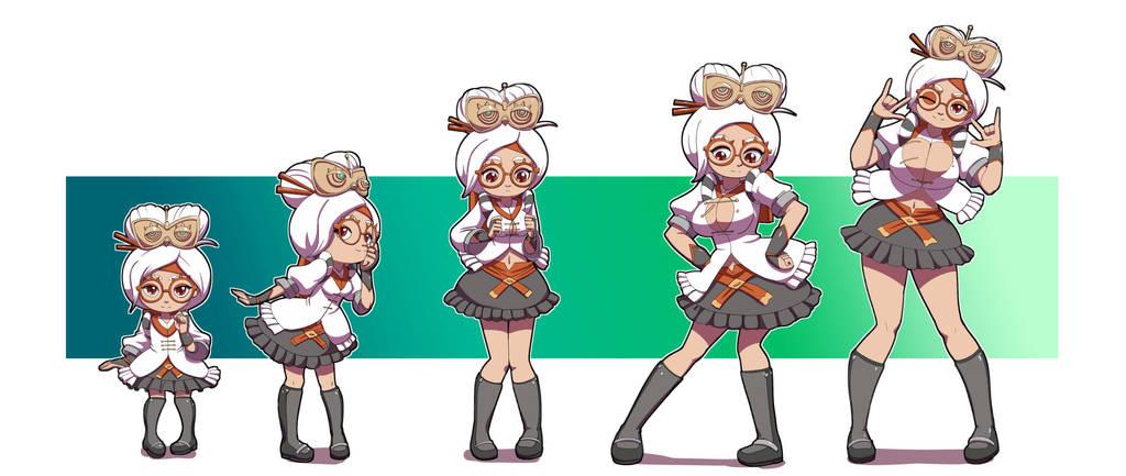 A Load Of Blogocks Some Odd Girl: CM- Purah Age Progression By Kojiro-Brushard On DeviantArt