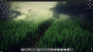 Desktop Theme #1 (Rainmeter) by Magnusgk