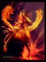 Fire elemental by ricky4
