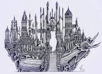 Cathedral ship by ricky4