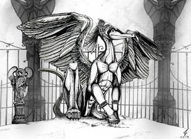 The gate keeper by ricky4