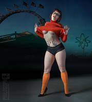 Velma at the carnival by PhilosophyFetish