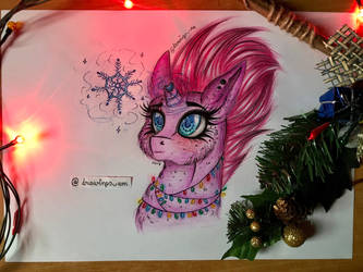Tempest Shadow (Christmas) by magicalnightstars