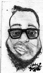 Tony (portrait) by inkeater