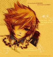 Roxas_Axel: My 40 mins by otaku-hos