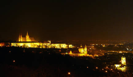 Prague castle by Ladan-cz