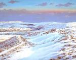 Snow on Fells by espiritoart