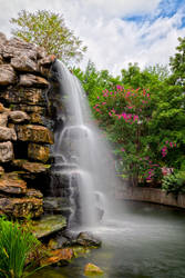 Zoo Waterfall by somadjinn