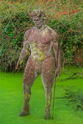 Devil's Hole Statue II - HDR by somadjinn