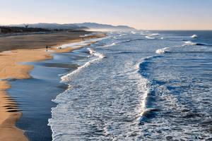 Land's End Beach by somadjinn