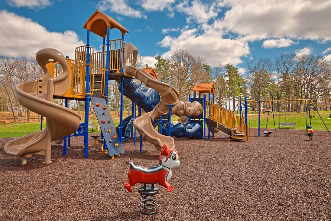 Wellesley Island Playground (freebie) by somadjinn